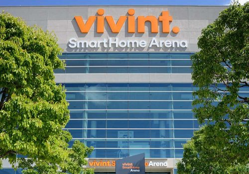 Vivint Smarthome Arena - Bluetooth Location-Based Services